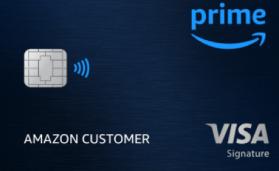 Amazon Prime Rewards Visa Signature Chase