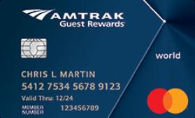 Amtrak Guest Rewards® World Mastercard® Bank of America