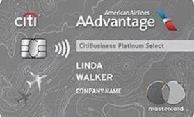CitiBusiness® / AAdvantage® Platinum Citi