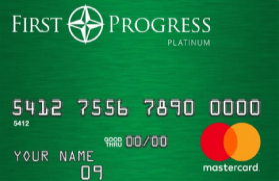 First Progress Platinum Elite Mastercard® Secured Synovus Bank