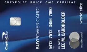 GM BuyPower Capital One