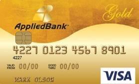 Gold Preferred® Secured Visa® Applied Bank