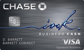 Ink Business Cash® Chase
