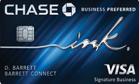 Ink Business Preferred® Chase