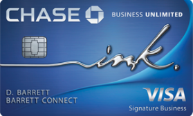 Ink Business Unlimited® Chase
