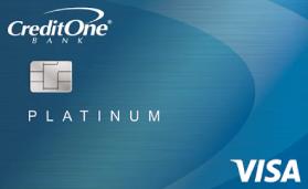 Platinum Visa For Rebuilding Credit Credit One Bank