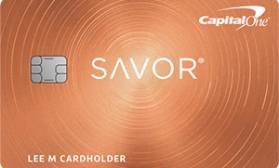 Savor Cash Rewards Capital One