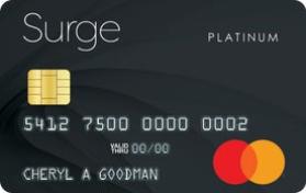 Surge Secured Mastercard® Celtic Bank