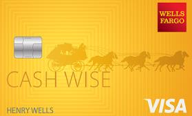 Wells Fargo Cash Wise Visa®